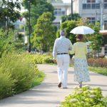 街なか邸宅。コンセプトイメージ老夫婦散歩
