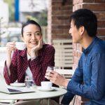 街なか邸宅。コンセプトイメージ若い夫婦カフェ